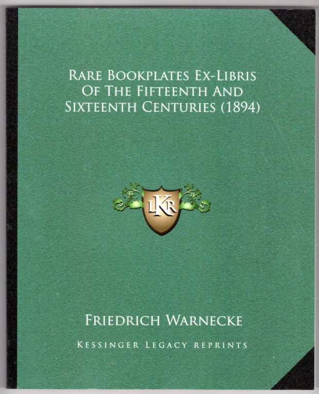Image 0 of Rare Bookplates Ex-Libris Of The Fifteenth And Sixteenth Centuries (1894)