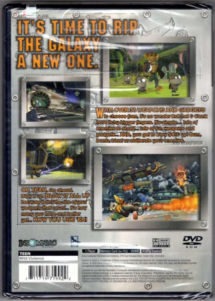 Image 1 of Ratchet & Clank - PlayStation 2