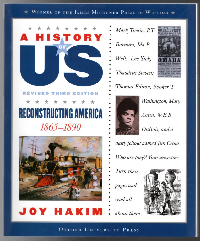 Image 0 of Reconstructing America: 1865-1890 A History of US Book 7