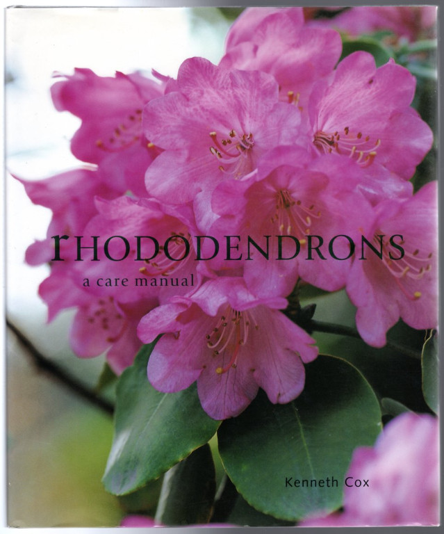 Image 0 of Rhododendrons (A Care Manual)