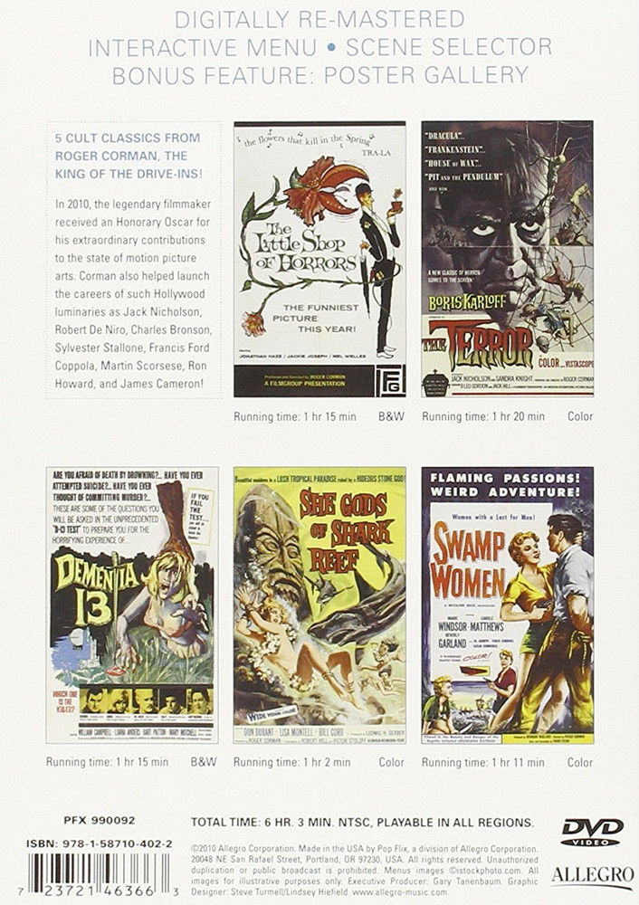 Image 1 of Roger Corman Horror Collection (2pc) (Full)