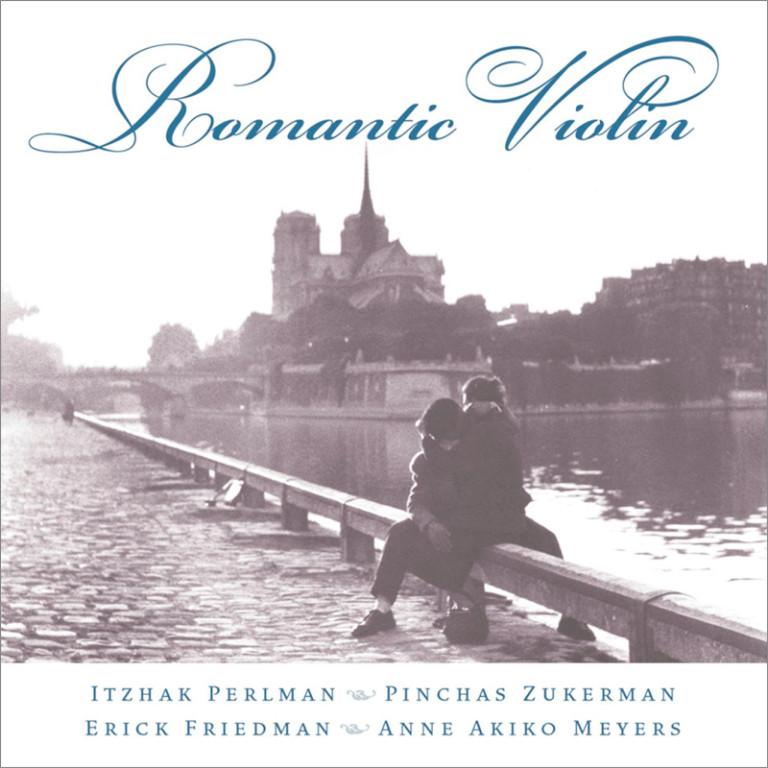 Image 0 of Romantic Violin / Itzhak Perlman, Pinchas Zukerman, Erick Friedman, Anne Akiko M