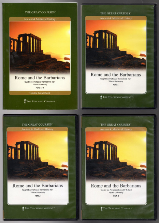 Image 0 of The Great Courses: Rome and the Barbarians