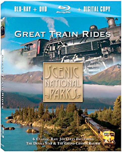 Image 0 of Scenic National Parks: Great Train Rides [Blu-ray]