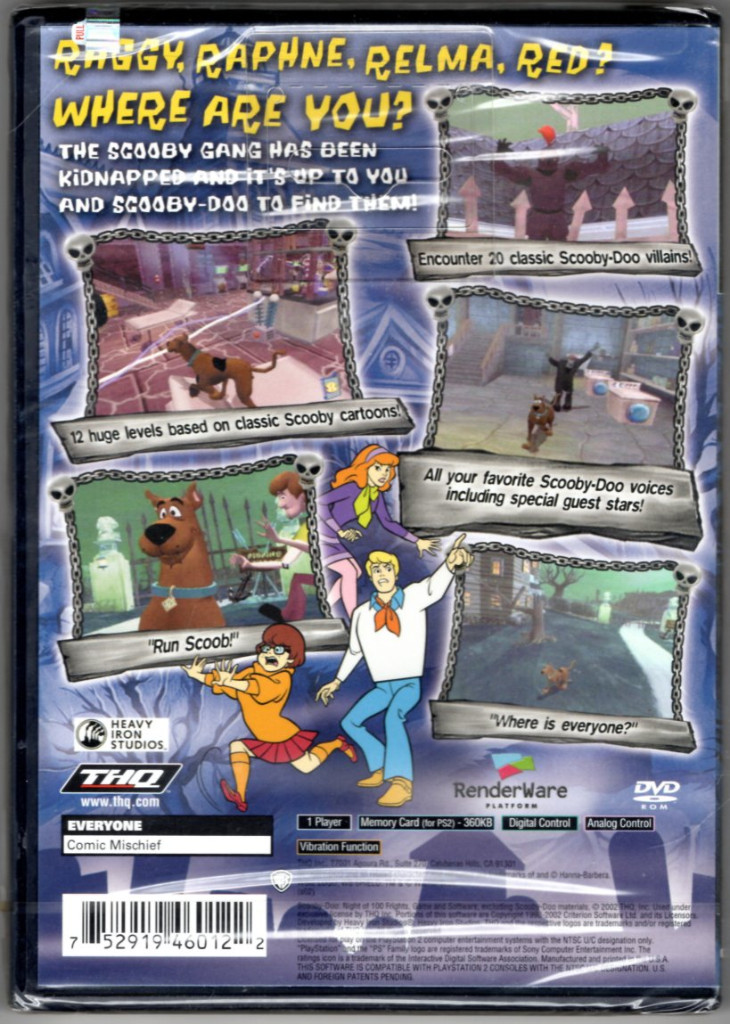 Image 1 of Scooby-Doo: Night of 100 Frights - PlayStation 2