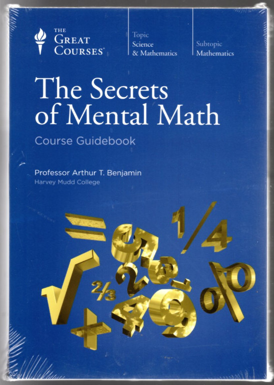 Image 0 of Secrets of Mental Math ~ The Great Courses