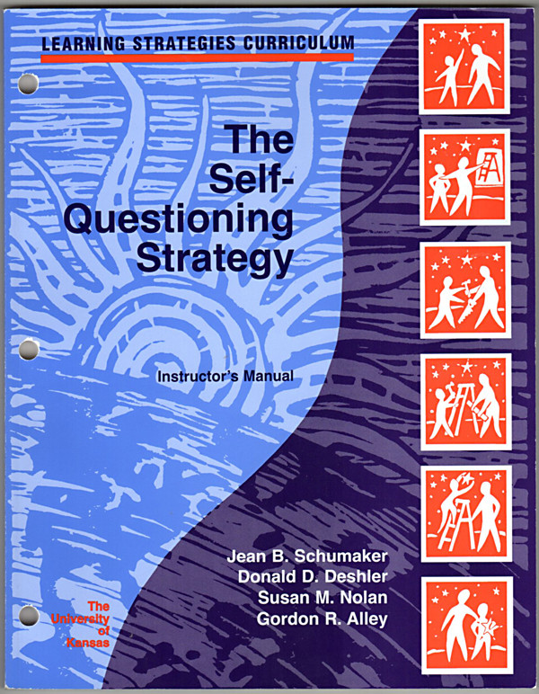Image 0 of The Self-Questioning Strategy (Learning Strategies Curriculum) (Instructor's Man