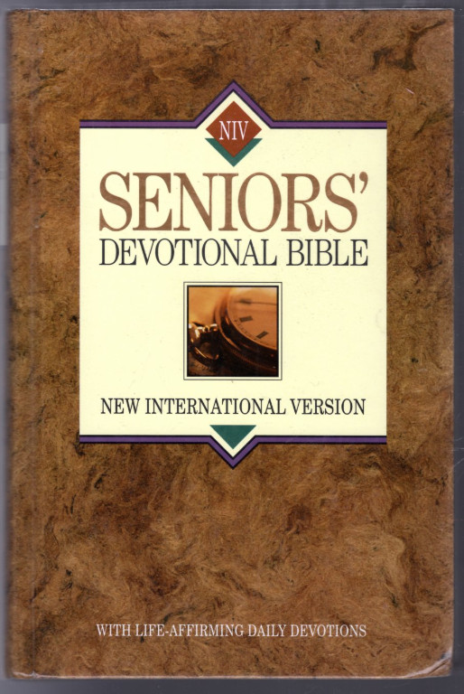 Image 0 of New International Version Seniors' Devotional Bible: With Life-Affirming Daily D