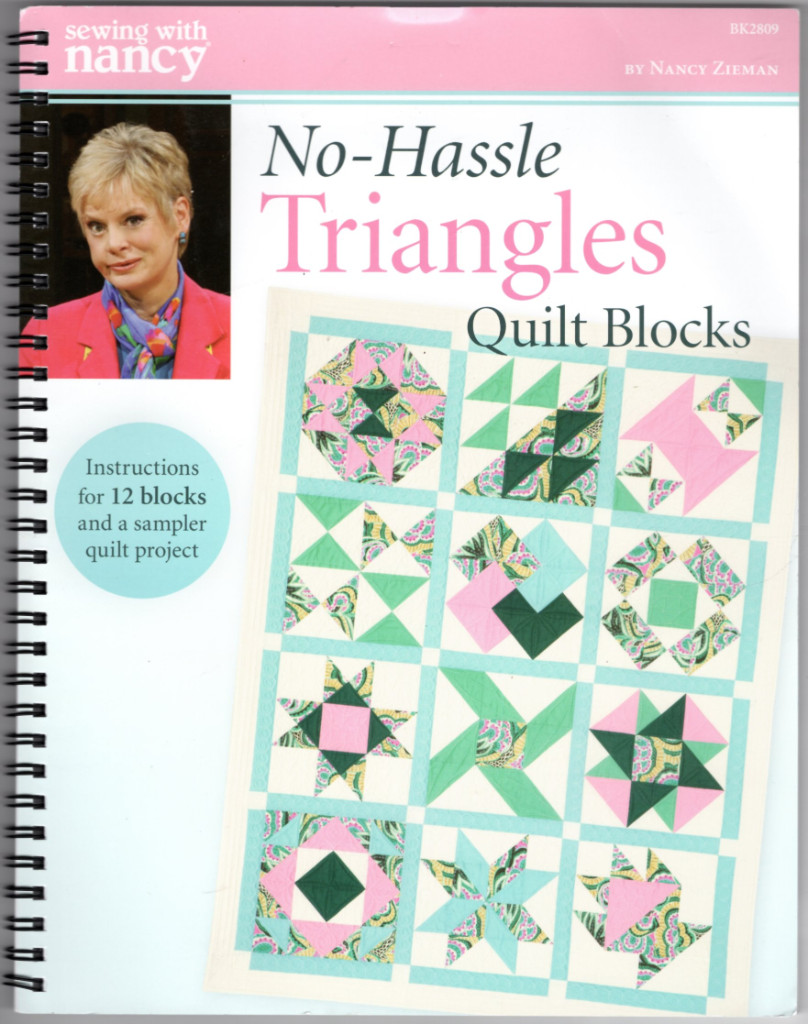 Image 1 of Sewing With Nancy No-Hassle Trianges Quilt Blocks DVD and Book