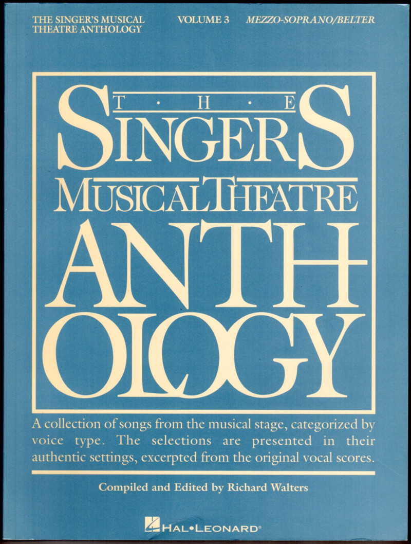 Image 0 of The Singer's Musical Theatre Anthology - Volume 3 - Mezzo-Soprano/Belter