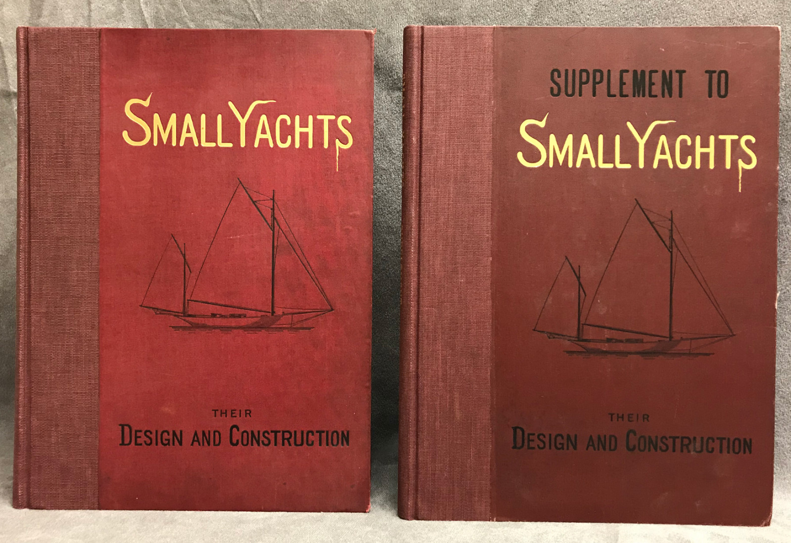Image 0 of Small Yachts. Their Design and Constructuction Exemplified by the ruling types o
