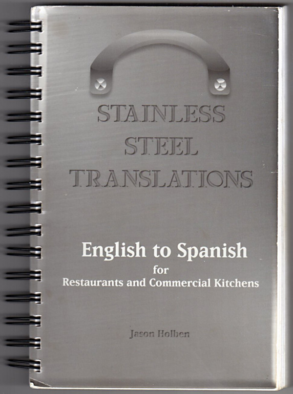 Image 0 of Stainless Steel Translations...English to Spanish for Restaurants and Commercial