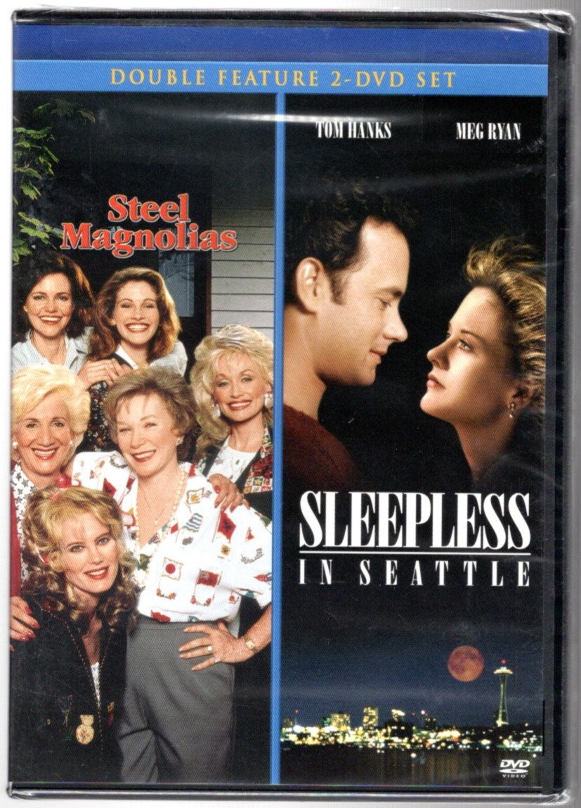 Image 0 of Steel Magnolias/Sleepless in Seattle Double Feature 2-DVD set [DVD]