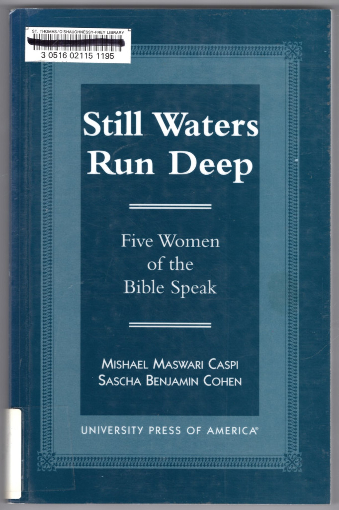 Image 0 of Still Waters Run Deep: Five Women of the Bible Speak