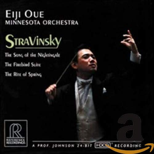 Image 0 of Stravinsky: The Song of the Nightingale, The Firebird Suite, The Rite of Spring