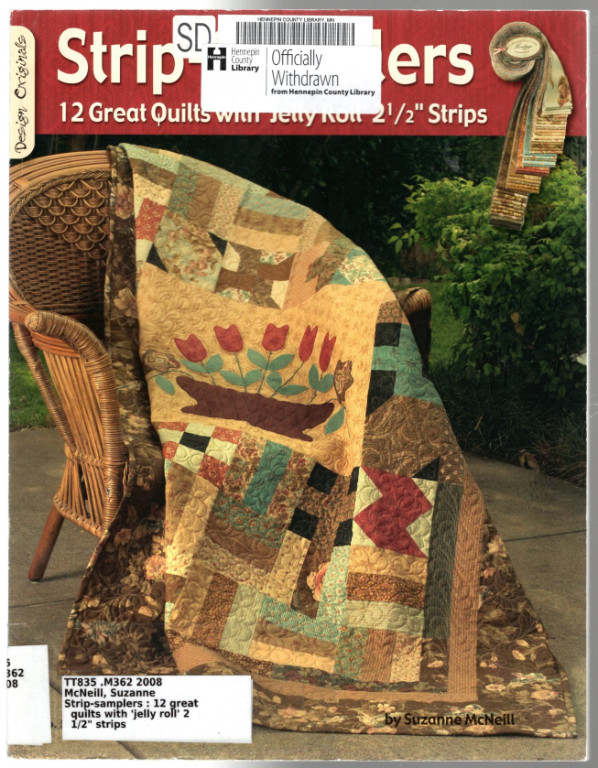 Image 0 of Strip Samplers: 12 Great Quilts with 'Jelly Roll' 2 1/2
