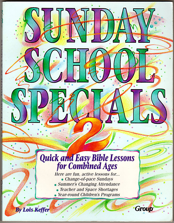 Image 0 of Sunday School Specials, Book 2: Quick and Easy Bible Lessons for Combined Ages