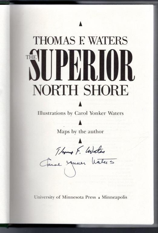 Image 2 of Superior North Shore: A Natural History of Lake Superior's Northern Lands and Wa