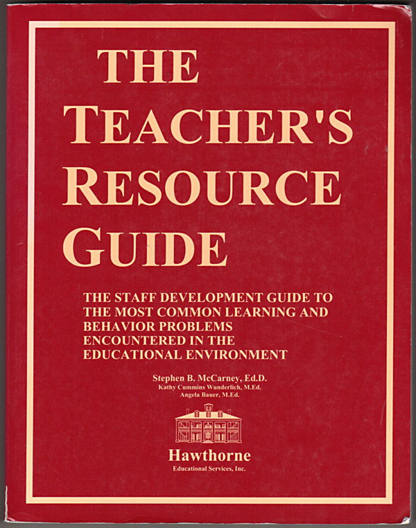 Image 0 of The Teacher's Resource Guide: A Staff Development Guide to the Most Common Learn