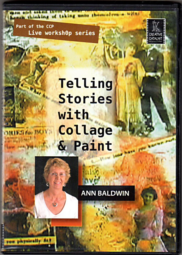 Image 0 of Collage - Telling Stories with Collage & Paint with Ann Baldwin