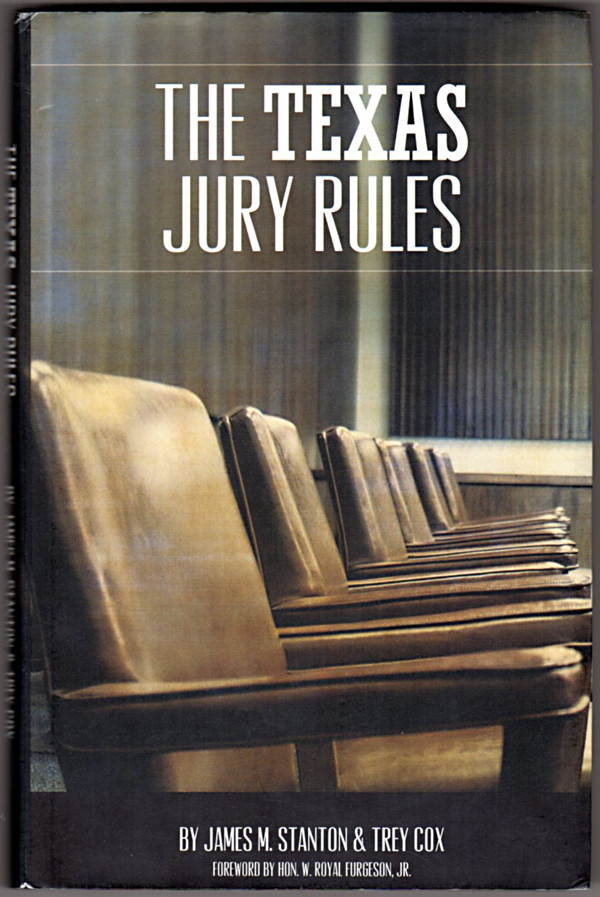 Image 0 of The Texas Jury Rules