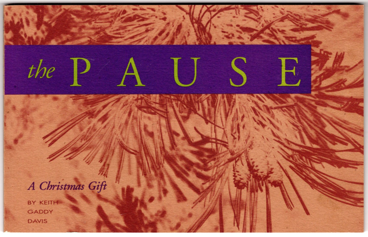 Image 0 of The Pause : A Christmas Gift