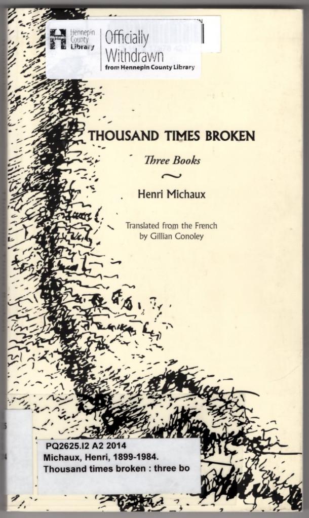 Image 0 of Thousand Times Broken: Three Books