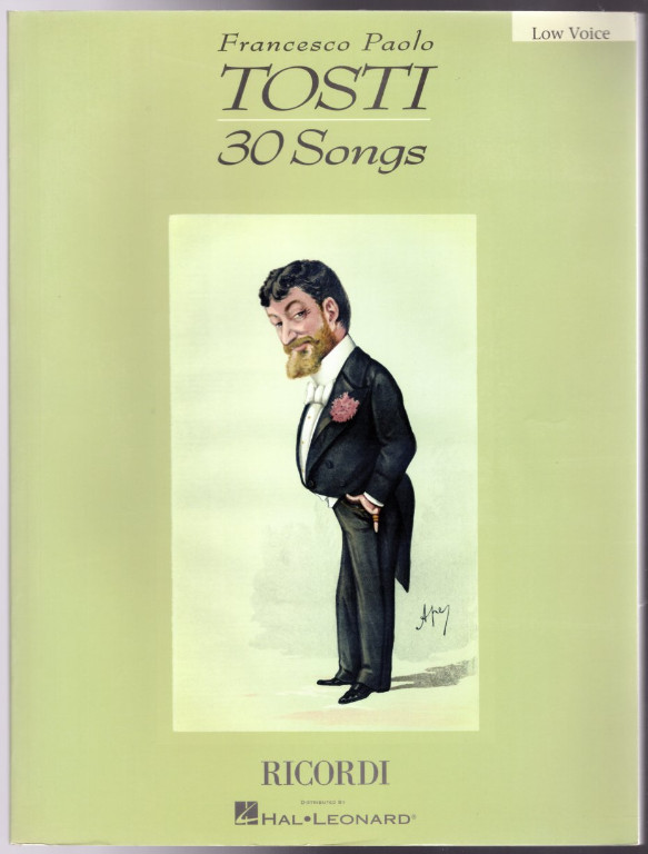 Image 0 of Francesco Paolo Tosti - 30 Songs: Low Voice