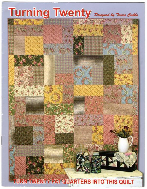 Image 0 of Turning Twenty - Turn Twenty Fat Quarters Into This Quilt (Turning Twenty)