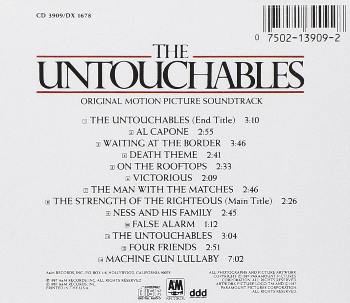 Image 1 of The Untouchables (1987 Film)
