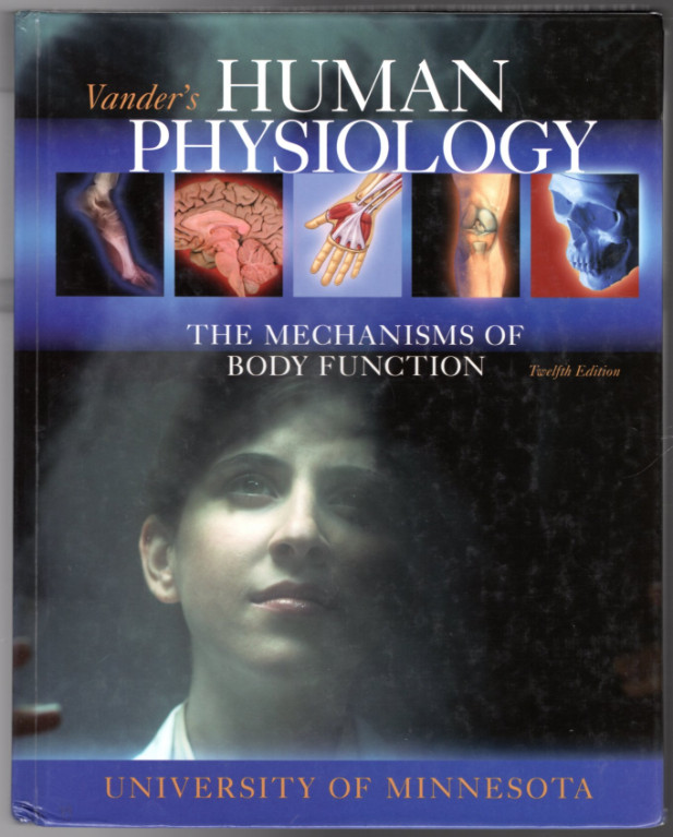 Image 0 of Vanders Human Physiology (U Of MN Custom Cover)