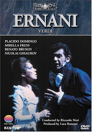 Image 0 of Verdi - Ernani / Domingo, Freni, Bruson, Ghiaurov, Muti, La Scala Opera