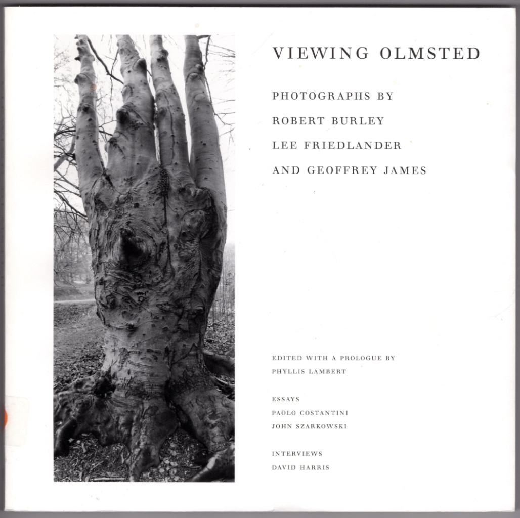 Image 0 of Viewing Olmsted: Photographs by Robert Burley, Lee Friedlander, and Geoffrey Jam