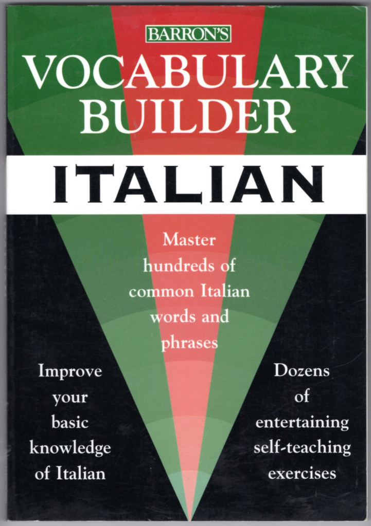 Image 0 of Vocabulary Builder: Italian: Master Hundreds of Common Italian Words and Phrases