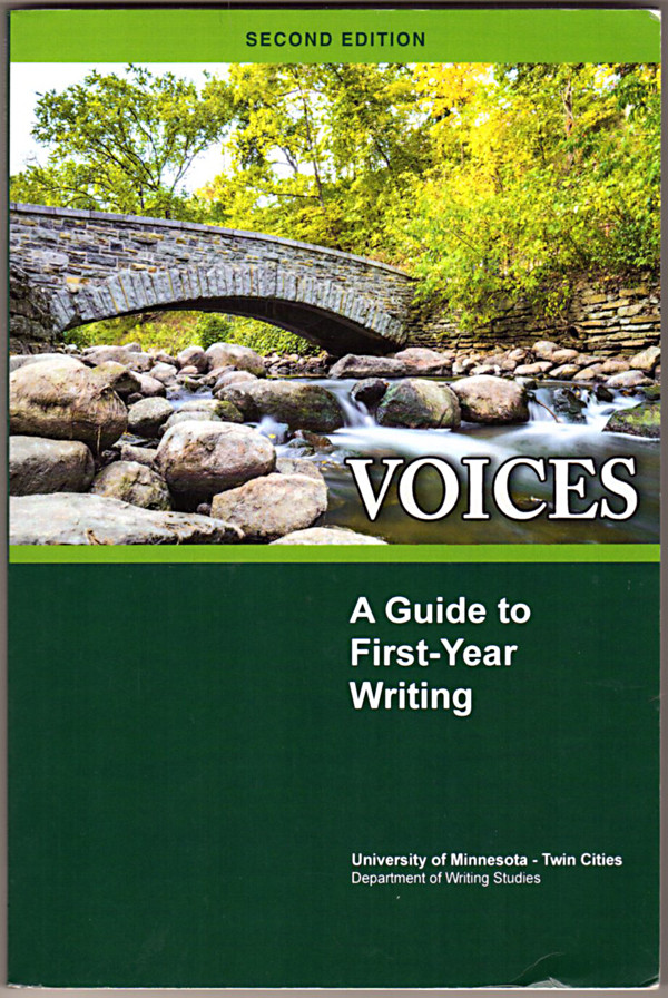 Image 0 of VOICES: A Guide to First-Year Writing