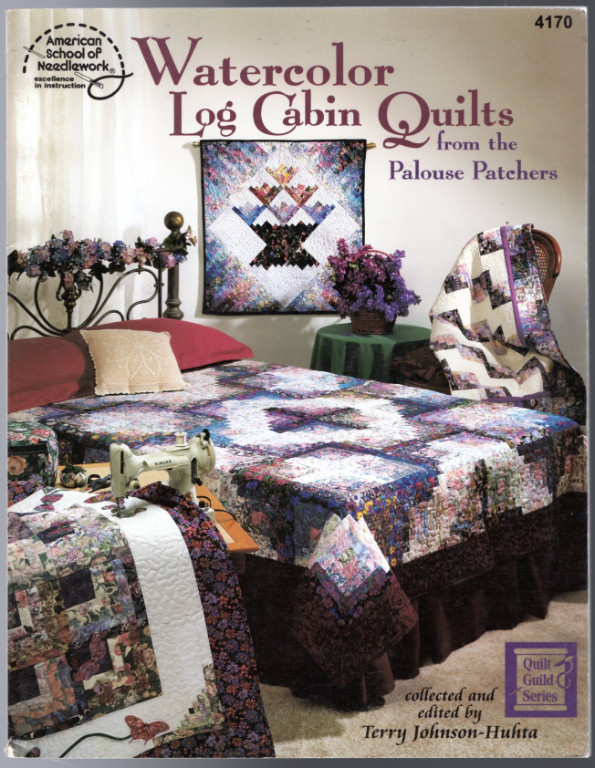 Image 0 of Watercolor Log Cabin Quilts from the Palouse Patchers