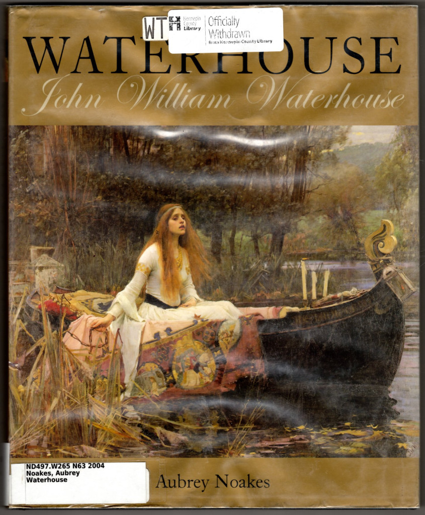 Image 0 of Waterhouse: John William Waterhouse (Chaucer Library of Art)