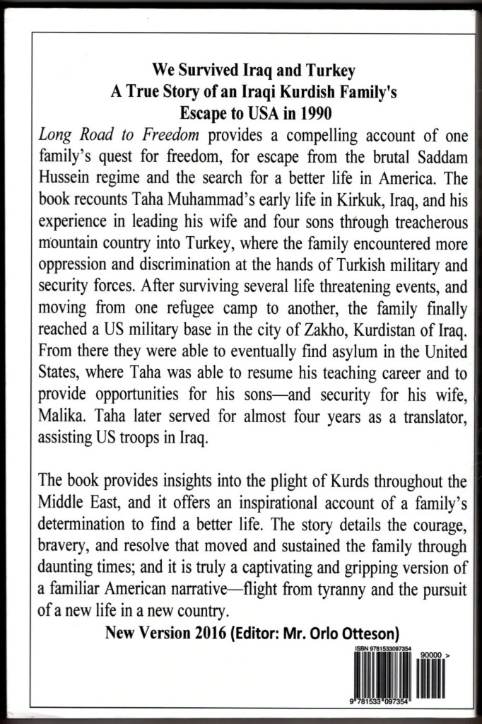 Image 1 of We Survived Iraq and Turkey: Long Road to Freedom