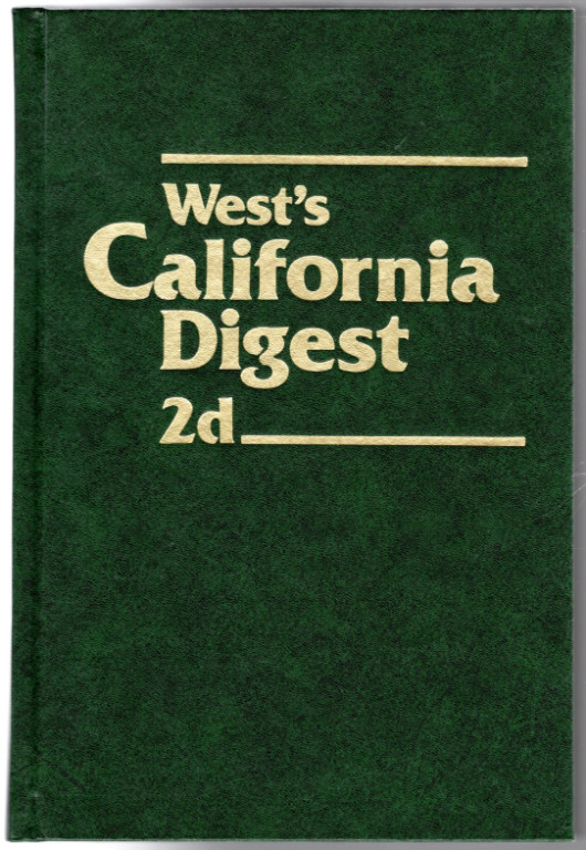Image 0 of West's California Digest 2d Vol. 9B: Controlled Substances 70 to Copyrights and