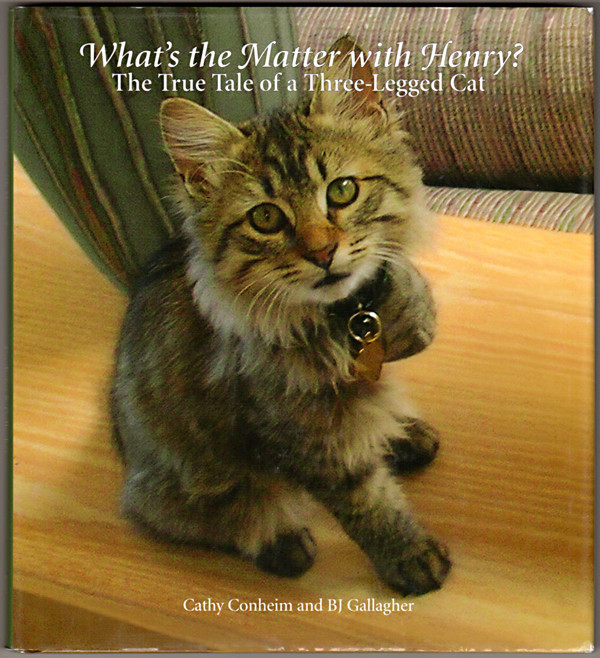 Image 0 of What's the Matter with Henry? The True Tale of a Three-legged Cat