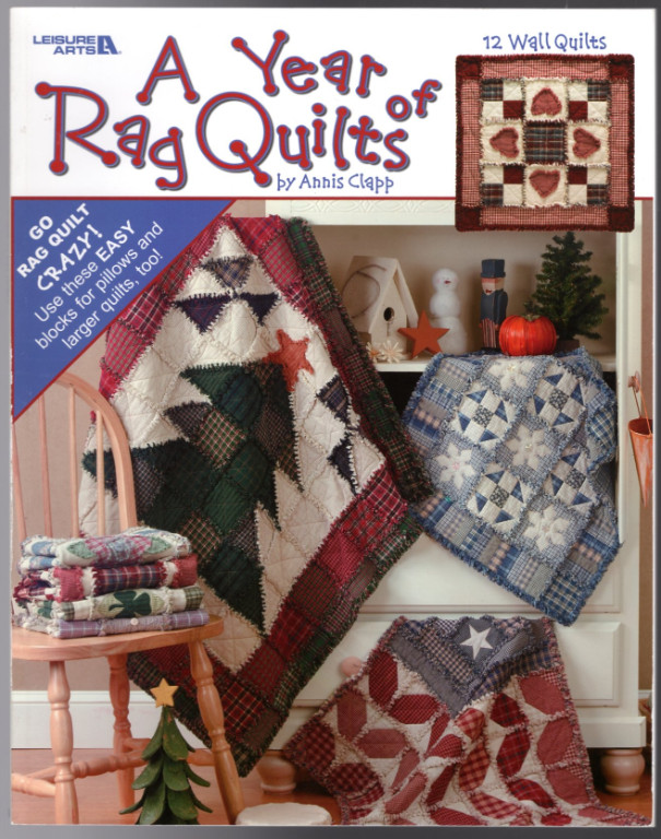 Image 0 of A Year of Rag Quilts  (Leisure Arts #3551)