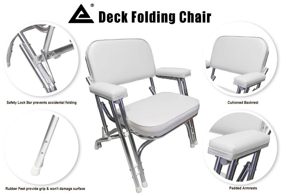 Leader Accessories New Deck Folding Chair #20201035