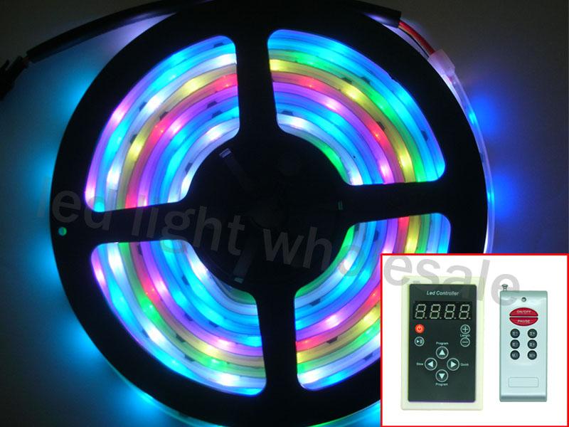 500cm 5050 SMD RGB Dream Color LED Strip Light + Wireless Controller