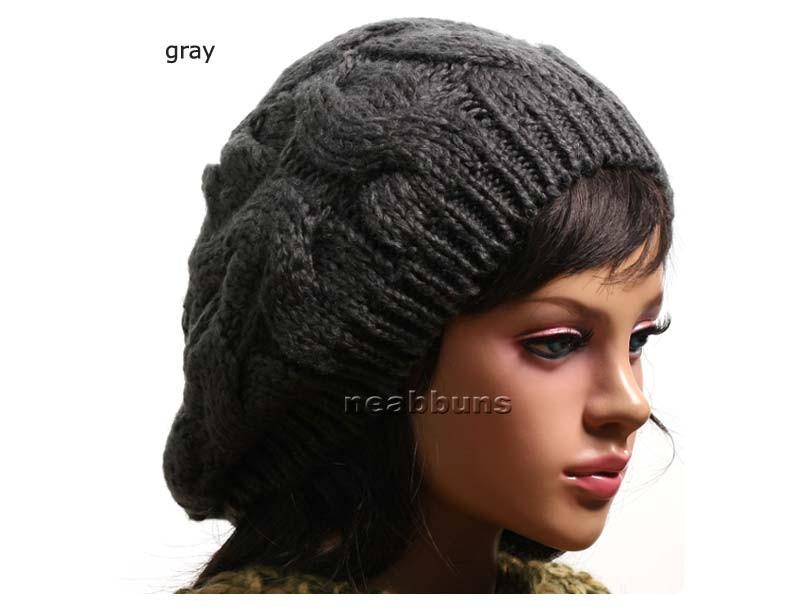 Details about new Cute BEANIE BERET Knit Crochet Rasta hat cap Bokk e42bac17b