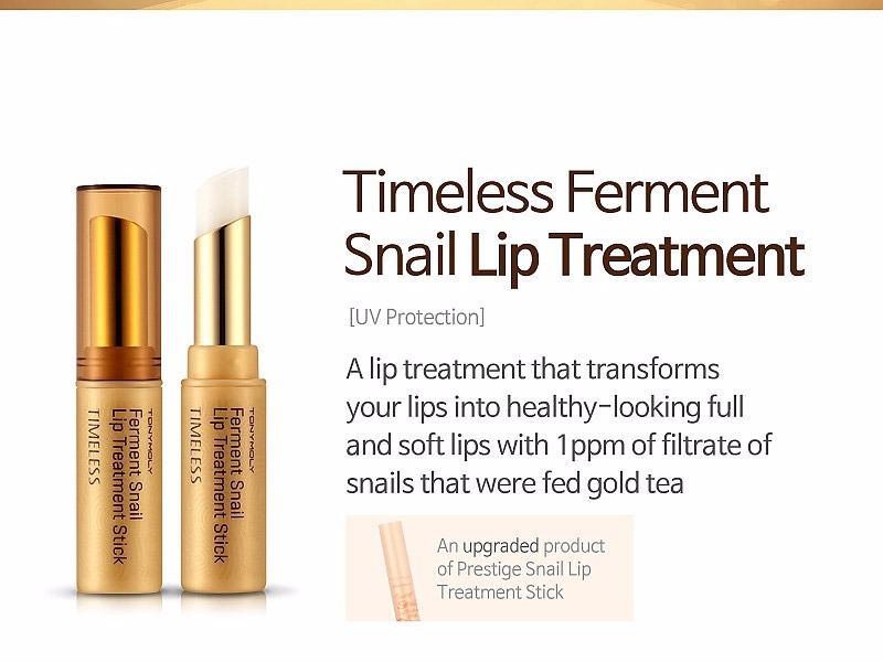 Tonymoly Timeless Ferment Snail Lip Treatment Stick 3 5g
