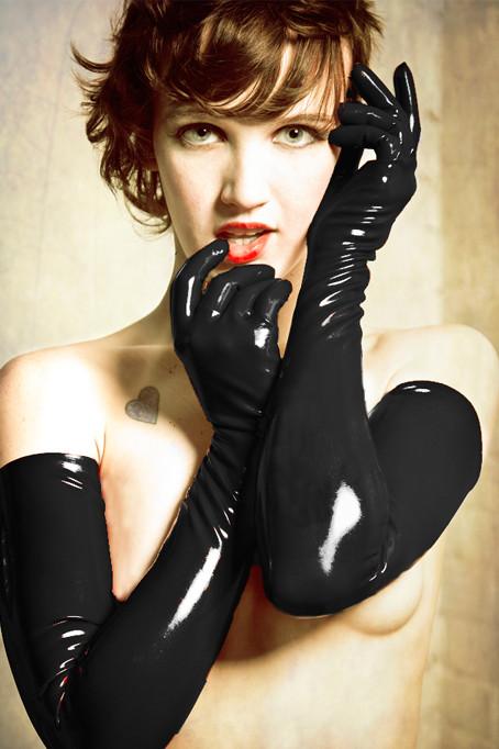 Womens latex gloves