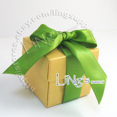 100 2x2x2 2pcs Favor Gift Box Wedding Baby Shower Party