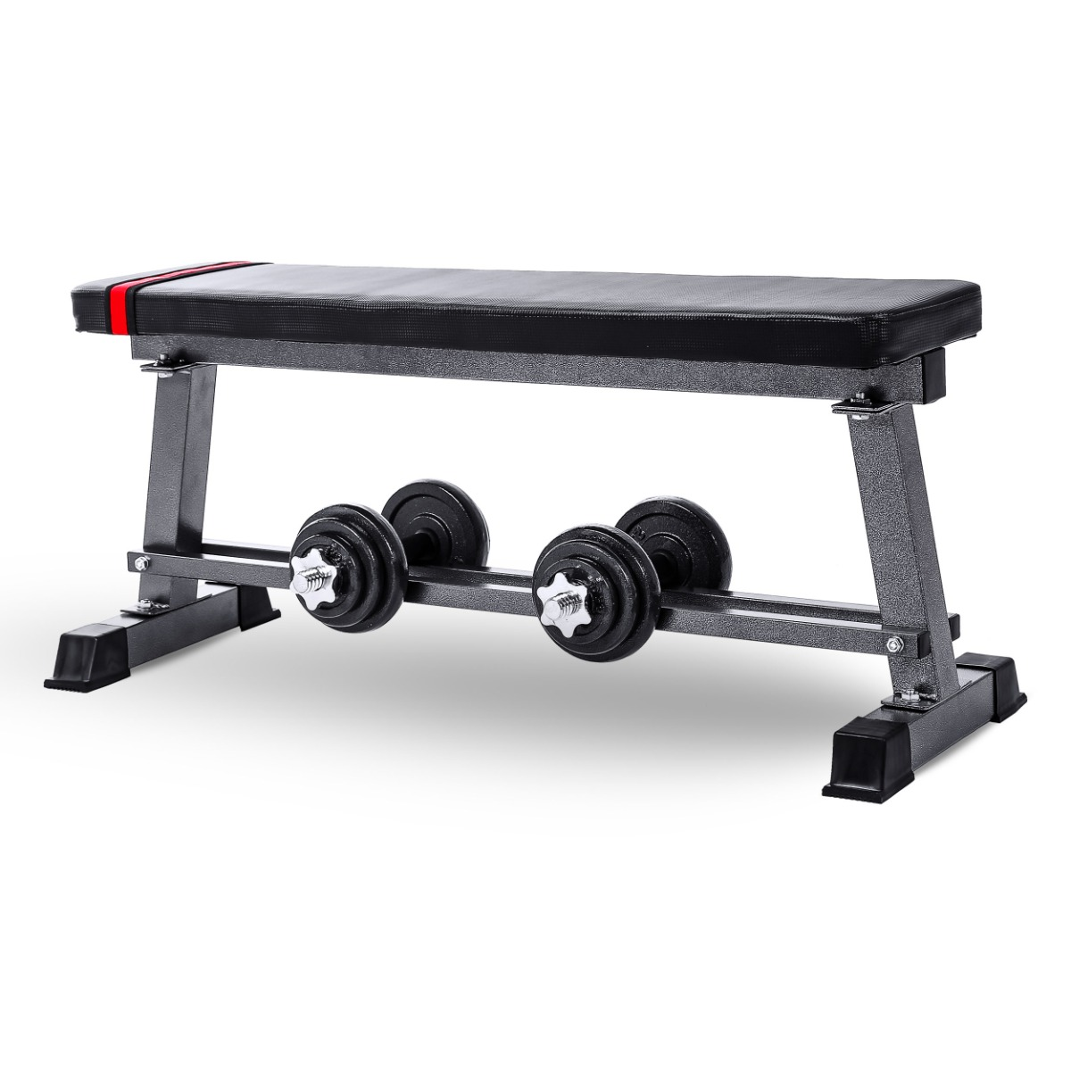 Pleasing Details About Flat Weight Bench Chest Biceps Press Abs Home Gym Fitness Weightlifting Workout Dailytribune Chair Design For Home Dailytribuneorg