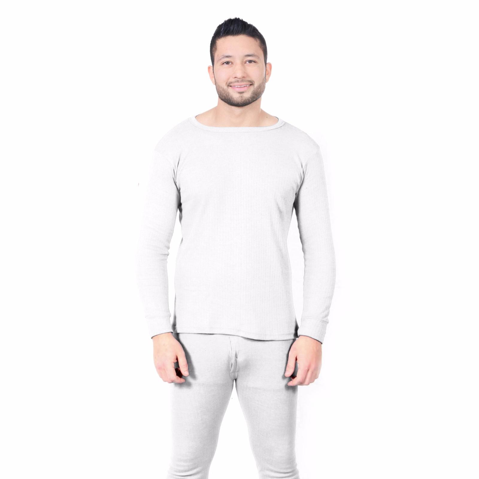 Thermal Men s Winter Inner Top Warm Underwear Long Sleeve Vest