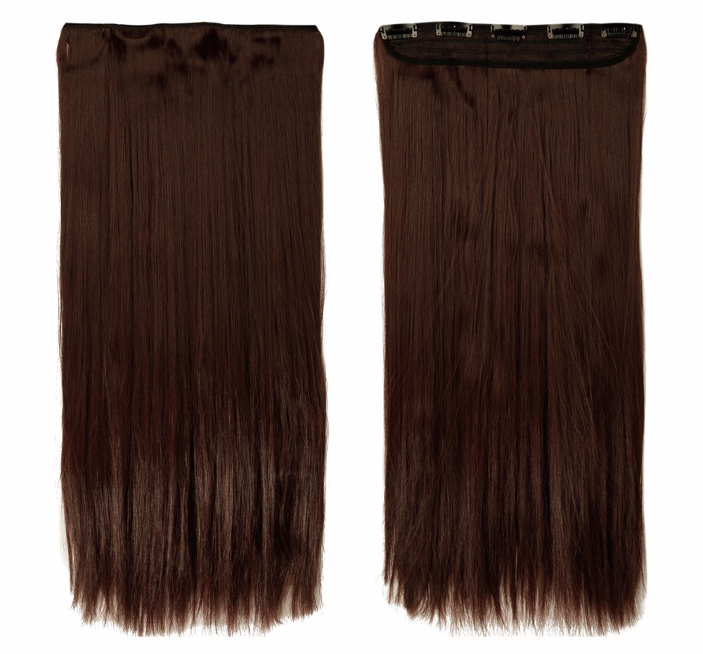 Women Ombre 34 Full Head Clip In Hair Extension Real Thick As Human